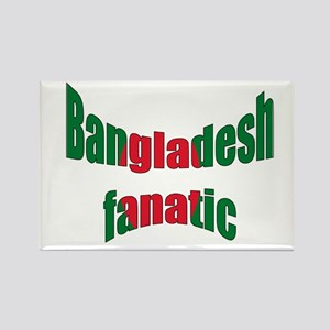 Bangladesh fan Rectangle Magnet