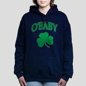 OBaby Irish Shamrock Hooded Sweatshirt