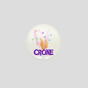 Crone Mini Button