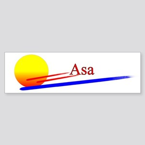 Asa Bumper Sticker