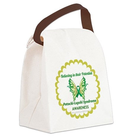 PTLS Butterfly Canvas Lunch Bag