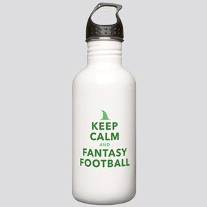 Keep Calm and Fantasy Football Water Bottle