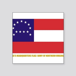 Lee's HQ Flag Rectangle Sticker