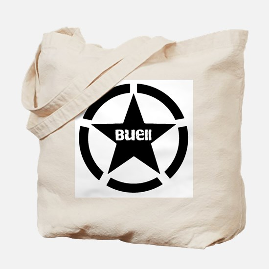 Buell Star Black Tote Bag