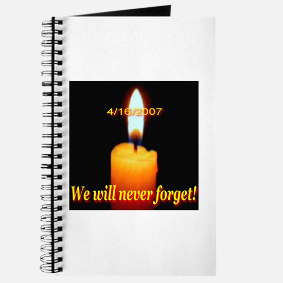4/16/2007 We will never forge Journal