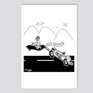 Flying Carpet Towing Serv Postcards (Package of 8)