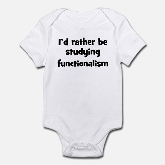 Study functionalism Infant Bodysuit