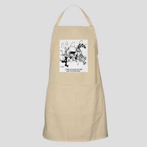 Isolating That Funny Noise Apron