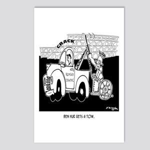 Ben Hur Gets A Tow Postcards (Package of 8)