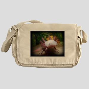 I <3 Axolotl Messenger Bag