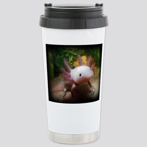 I <3 Axolotl Travel Mug