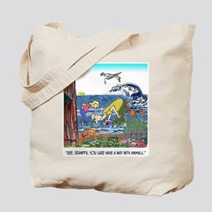 A Way With Tidepool Animals Tote Bag