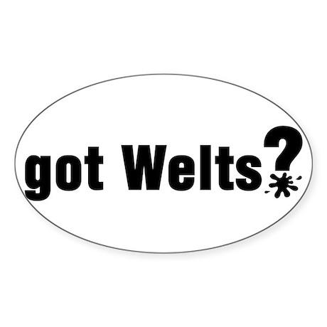 Got Paintball Welts Rectangle Sticker