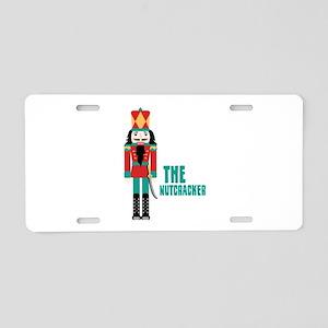 THE NUTCRACKER Aluminum License Plate