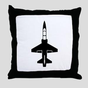 T-38 Throw Pillow