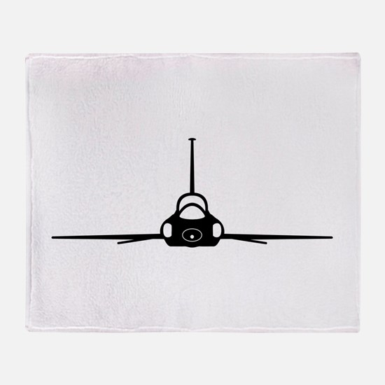 Funny Air force rotc Throw Blanket