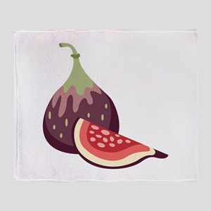 Figs Throw Blanket