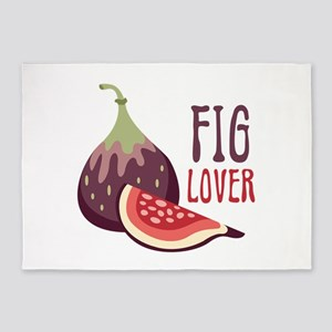 Fig Lover 5'x7'Area Rug