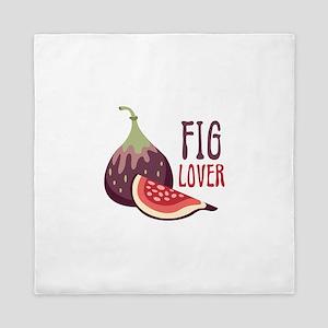 Fig Lover Queen Duvet