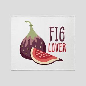 Fig Lover Throw Blanket