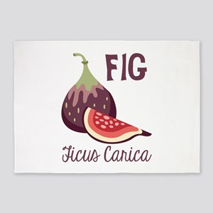 Fig Ficus Carica 5'x7'Area Rug