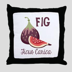 Fig Ficus Carica Throw Pillow