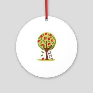 Apple Tree Ornament (Round)