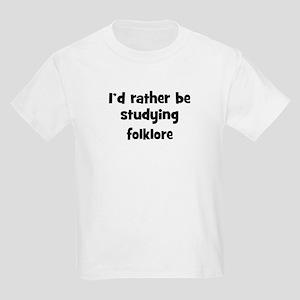 Study folklore Kids Light T-Shirt