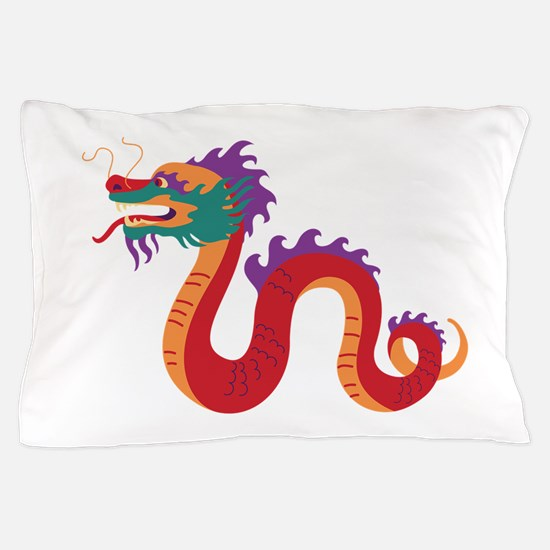 Chinese New Year Dragon Pillow Case