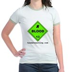 Blood Women's Ringer T-Shirt