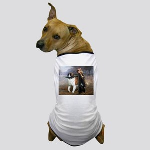 A Little Girl and Her Dog Dog T-Shirt