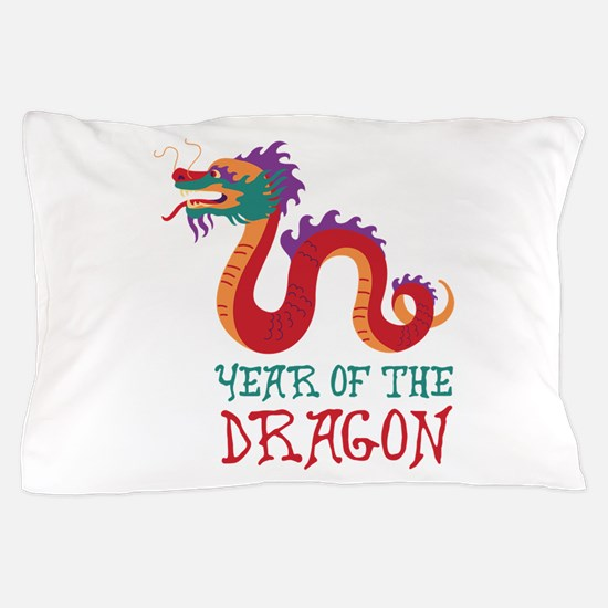 Year Of The Dragon Pillow Case