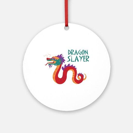 DRAGON SLAYER Ornament (Round)