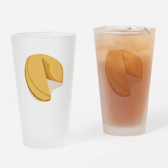 Fortune Cookie Drinking Glass