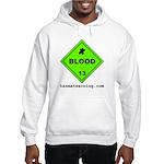 Blood Hooded Sweatshirt
