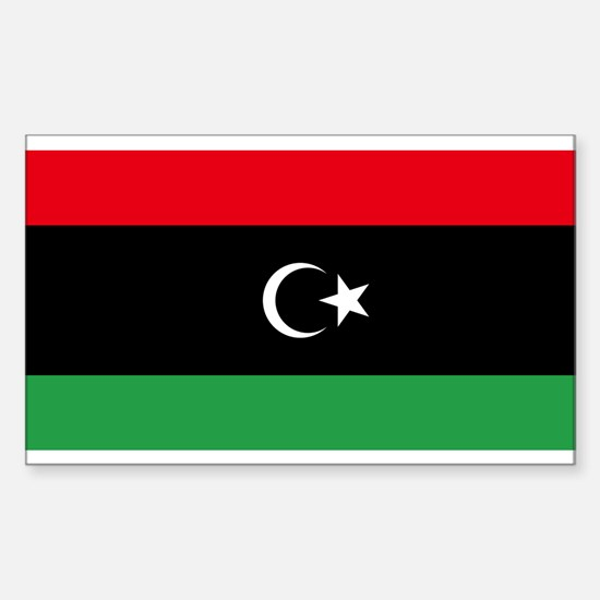 Flag of Libya Sticker (Rectangle)