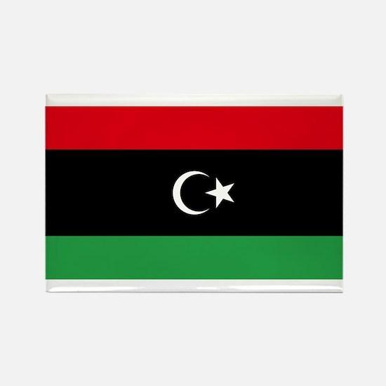 Flag of Libya Rectangle Magnet