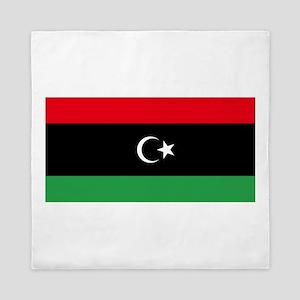 Flag of Libya Queen Duvet