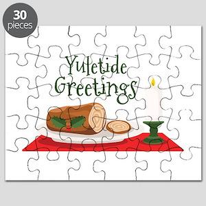 Yuletide Greetings Puzzle
