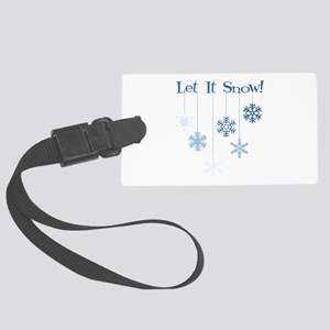 Let It Snow! Luggage Tag