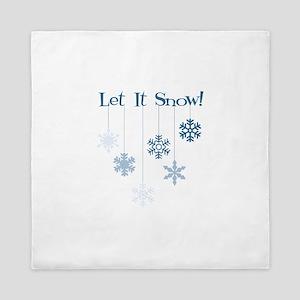 Let It Snow! Queen Duvet