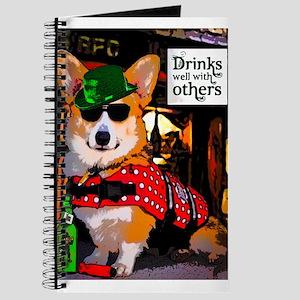 Irish Pub Corgi Journal