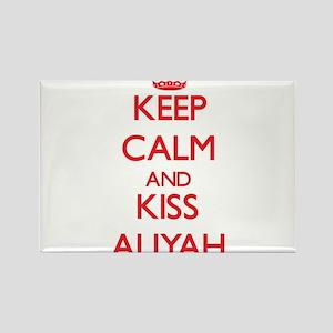 Keep Calm and Kiss Aliyah Magnets