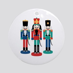 Nutcracker Ornament (Round)