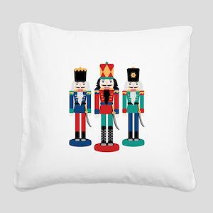 Nutcracker Square Canvas Pillow
