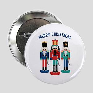 "MERRY CHRISTMAS 2.25"" Button"