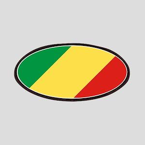 Congo Republic Flag Patches