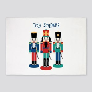 TOY SOLDIERS 5'x7'Area Rug
