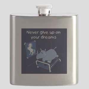 Never Give Up Flask