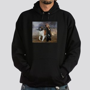 A Little Girl and Her Dog Hoodie